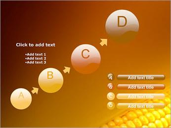Maïs Modèles des présentations  PowerPoint - Diapositives 15