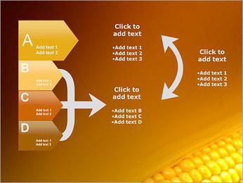 Maïs Modèles des présentations  PowerPoint - Diapositives 16