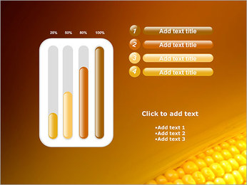 Maïs Modèles des présentations  PowerPoint - Diapositives 18