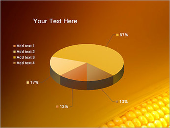 Maïs Modèles des présentations  PowerPoint - Diapositives 19
