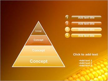 Maïs Modèles des présentations  PowerPoint - Diapositives 22