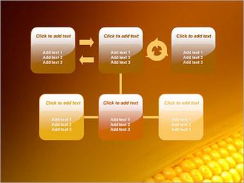 Maïs Modèles des présentations  PowerPoint - Diapositives 23