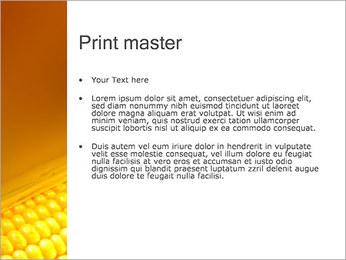 Maïs Modèles des présentations  PowerPoint - Diapositives 24