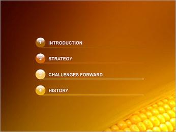 Maïs Modèles des présentations  PowerPoint - Diapositives 3