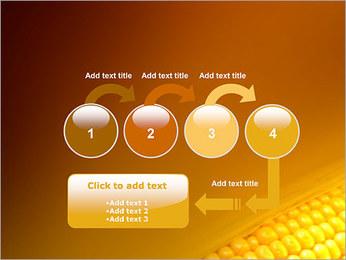 Maïs Modèles des présentations  PowerPoint - Diapositives 4