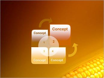 Maïs Modèles des présentations  PowerPoint - Diapositives 5