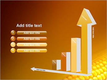 Maïs Modèles des présentations  PowerPoint - Diapositives 6