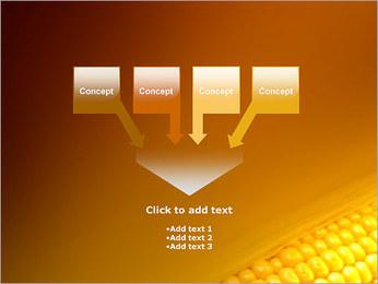 Maïs Modèles des présentations  PowerPoint - Diapositives 8