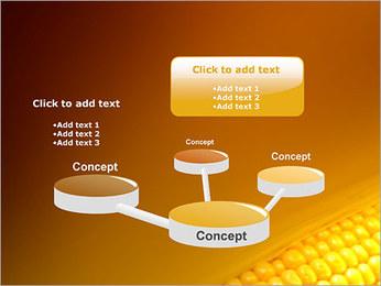 Maïs Modèles des présentations  PowerPoint - Diapositives 9