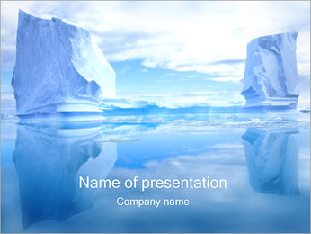 Glaciers PowerPoint Template