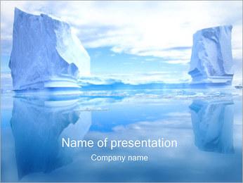 Glaciers Modèles des présentations  PowerPoint - Diapositives 1