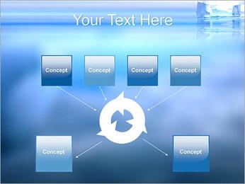 Glaciers Modèles des présentations  PowerPoint - Diapositives 10