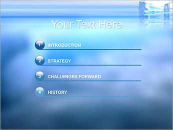 Glaciers Modèles des présentations  PowerPoint - Diapositives 3