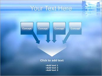 Glaciers Modèles des présentations  PowerPoint - Diapositives 8