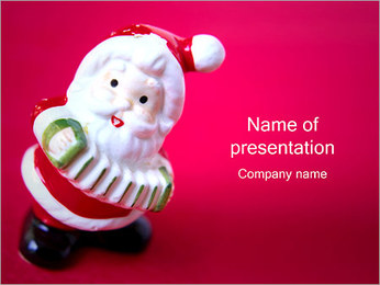 Santa Toy PowerPoint Template