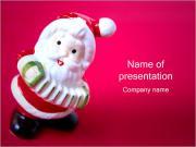 Santa Toy PowerPoint Templates