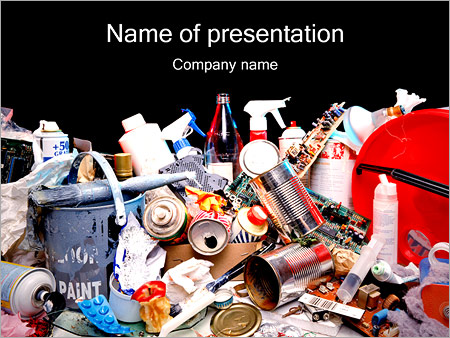 Garbage powerpoint template backgrounds id 0000001507 garbage powerpoint templates toneelgroepblik
