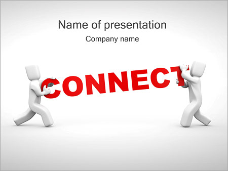 Connect People PowerPoint Template