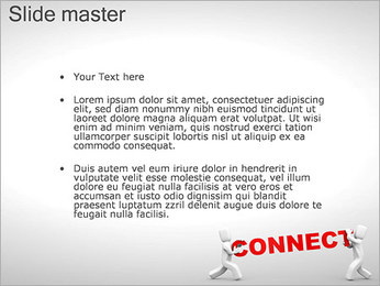 Connect People PowerPoint Template - Slide 2