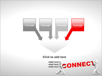 Connect People PowerPoint Template - Slide 8
