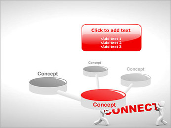 Connect People PowerPoint Template - Slide 9