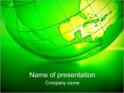 Green Globe Шаблоны презентаций PowerPoint