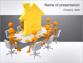Construction Meeting PowerPoint Template