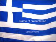Flag of Greece PowerPoint Templates
