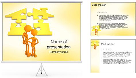 Шаблоны презентаций powerpoint дом