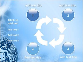 Circuit et Globe Modèles des présentations  PowerPoint - Diapositives 14