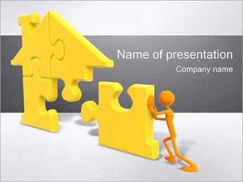Building the House PowerPoint Template