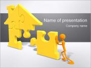 Building the House PowerPoint Templates
