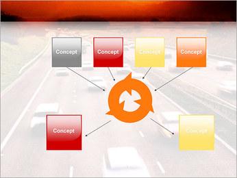 Trafic de voitures Modèles des présentations  PowerPoint - Diapositives 10