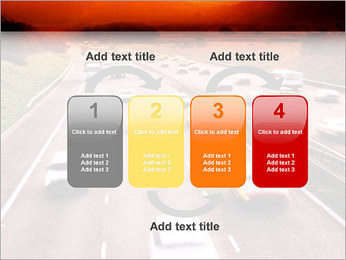Trafic de voitures Modèles des présentations  PowerPoint - Diapositives 11