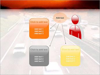 Trafic de voitures Modèles des présentations  PowerPoint - Diapositives 12