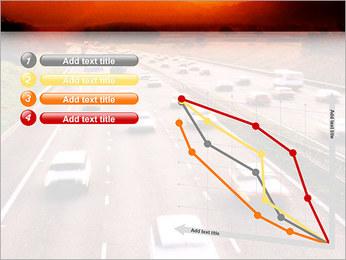Trafic de voitures Modèles des présentations  PowerPoint - Diapositives 13