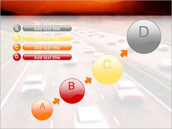 Trafic de voitures Modèles des présentations  PowerPoint - Diapositives 15