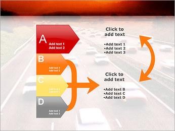 Trafic de voitures Modèles des présentations  PowerPoint - Diapositives 16