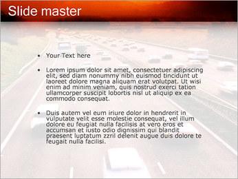 Trafic de voitures Modèles des présentations  PowerPoint - Diapositives 2