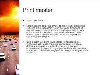 Trafic de voitures Modèles des présentations  PowerPoint - Diapositives 24
