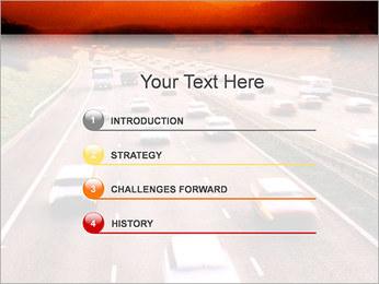 Trafic de voitures Modèles des présentations  PowerPoint - Diapositives 3