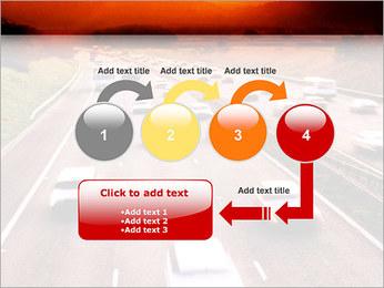 Trafic de voitures Modèles des présentations  PowerPoint - Diapositives 4