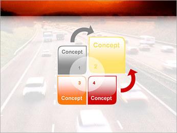 Trafic de voitures Modèles des présentations  PowerPoint - Diapositives 5