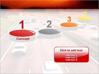 Trafic de voitures Modèles des présentations  PowerPoint - Diapositives 7