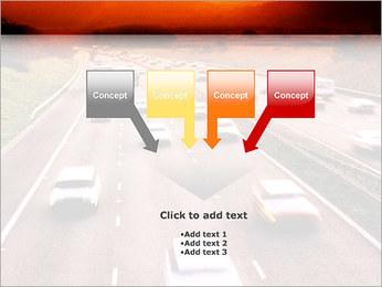 Trafic de voitures Modèles des présentations  PowerPoint - Diapositives 8