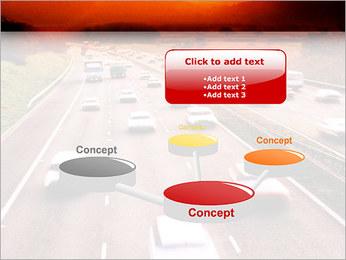 Trafic de voitures Modèles des présentations  PowerPoint - Diapositives 9