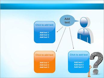 Pergunta Imposto Modelos de apresentações PowerPoint - Slide 12