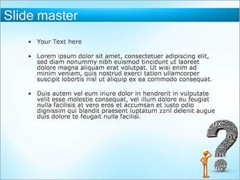 Pergunta Imposto Modelos de apresentações PowerPoint - Slide 2