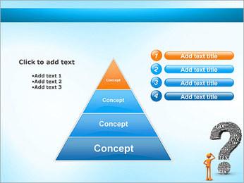 Pergunta Imposto Modelos de apresentações PowerPoint - Slide 22
