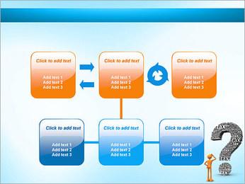 Pergunta Imposto Modelos de apresentações PowerPoint - Slide 23
